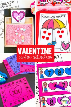 Valentine'sDay Centers for Preschool