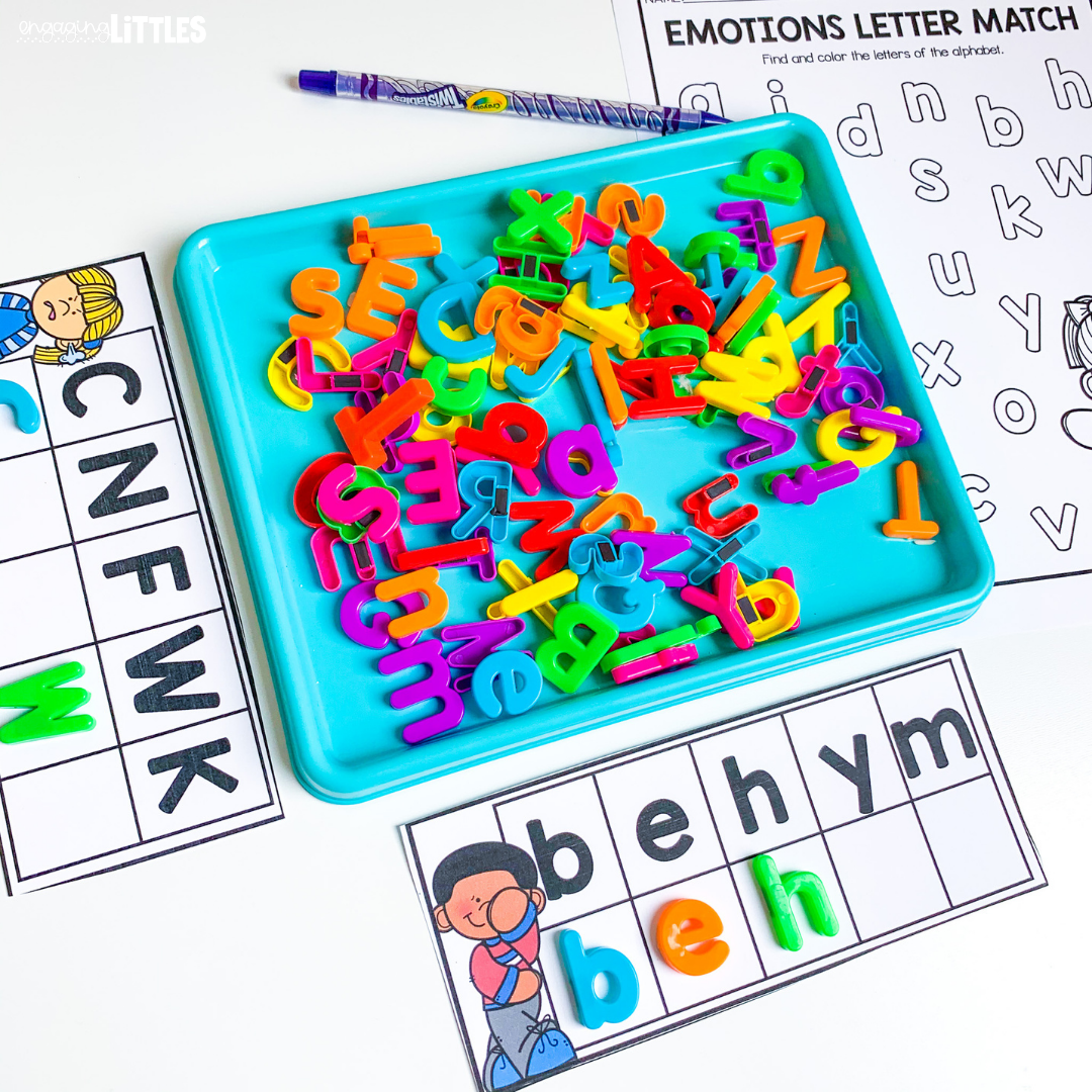 emotion letter match