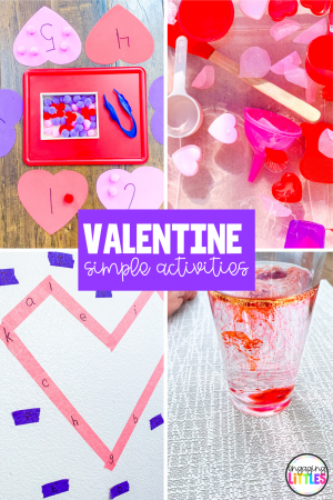 valentine simple activities for kids