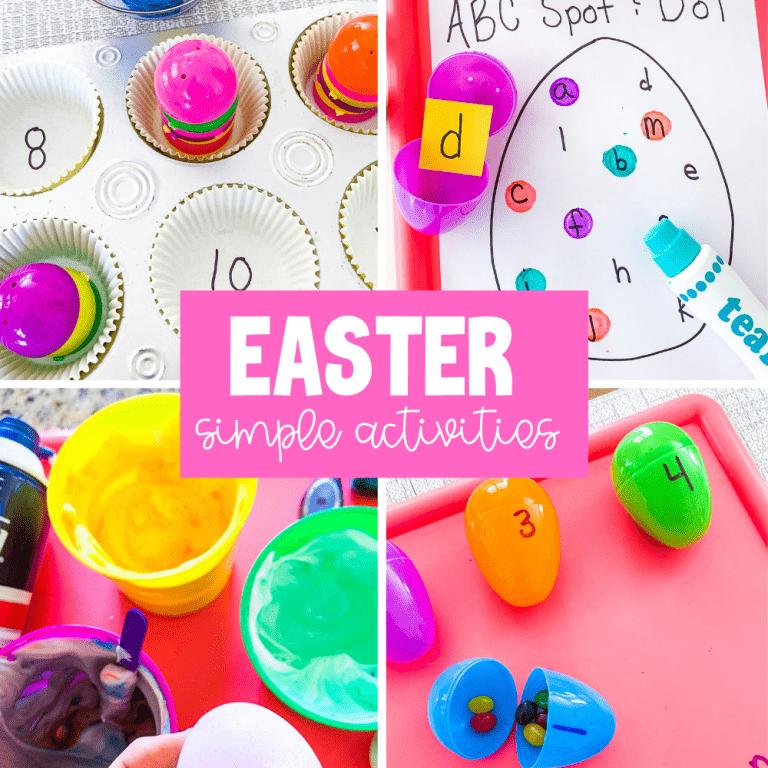 easter activities for preschool
