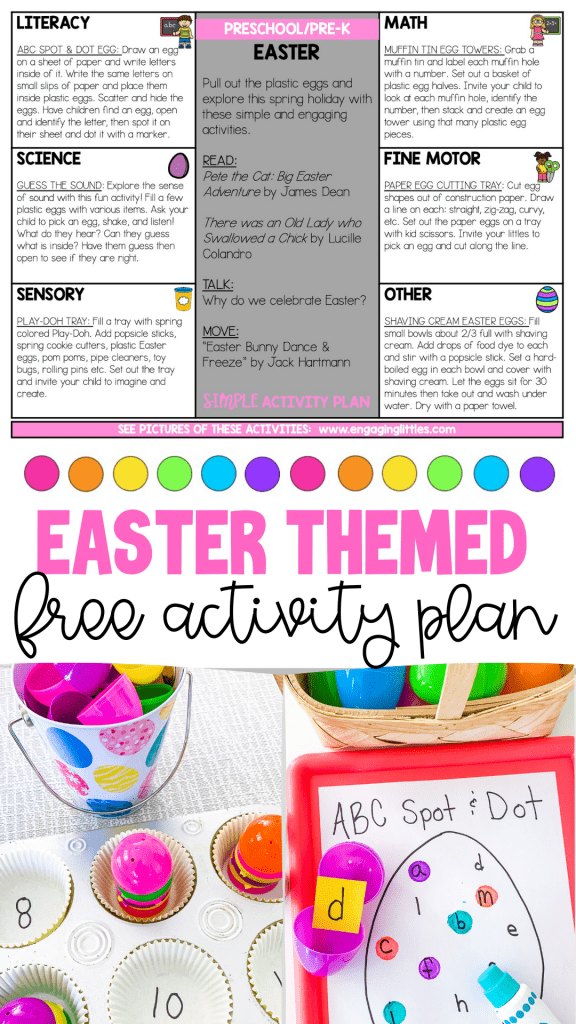 Easter Free Activity Plan