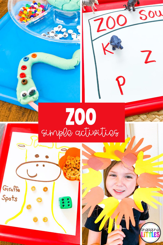 zoo activities for kids