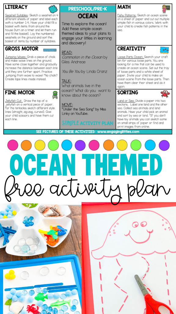 ocean ideas for kids