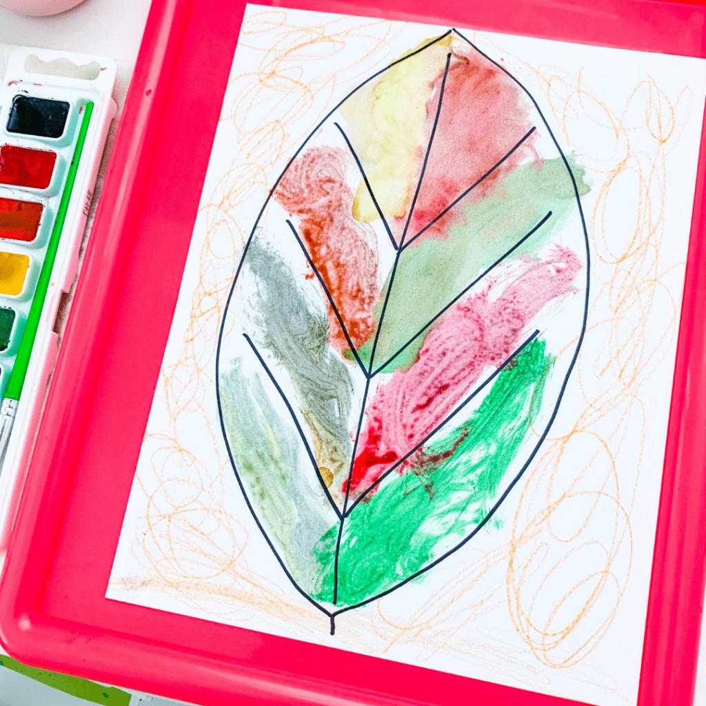 easy autumn kids craft