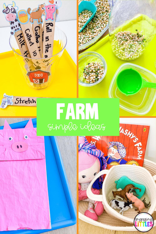 farm activities for kids
