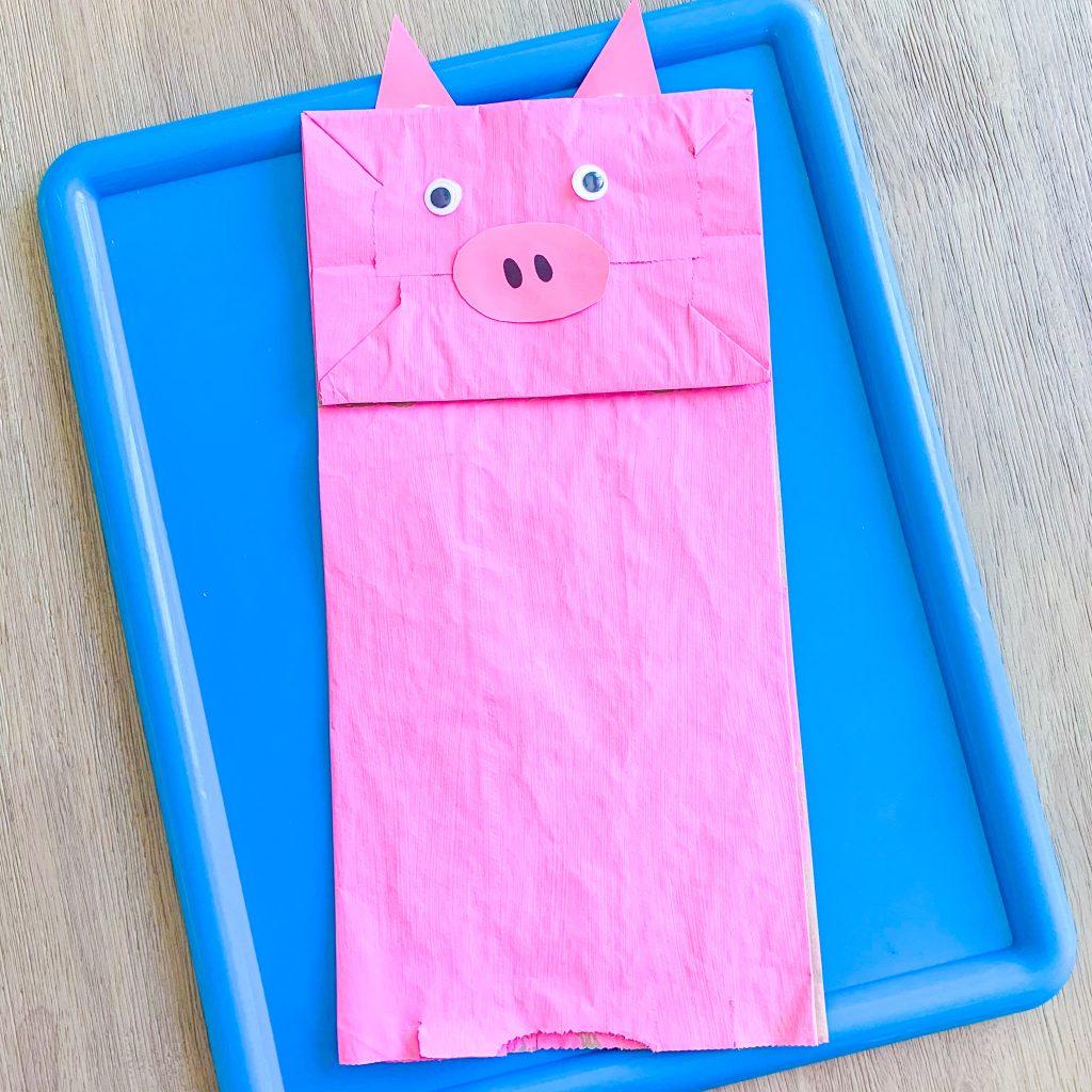 farm pig kids craft