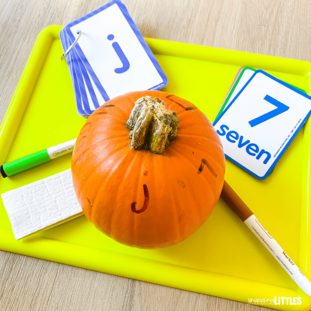 preschool pumpkin ideas