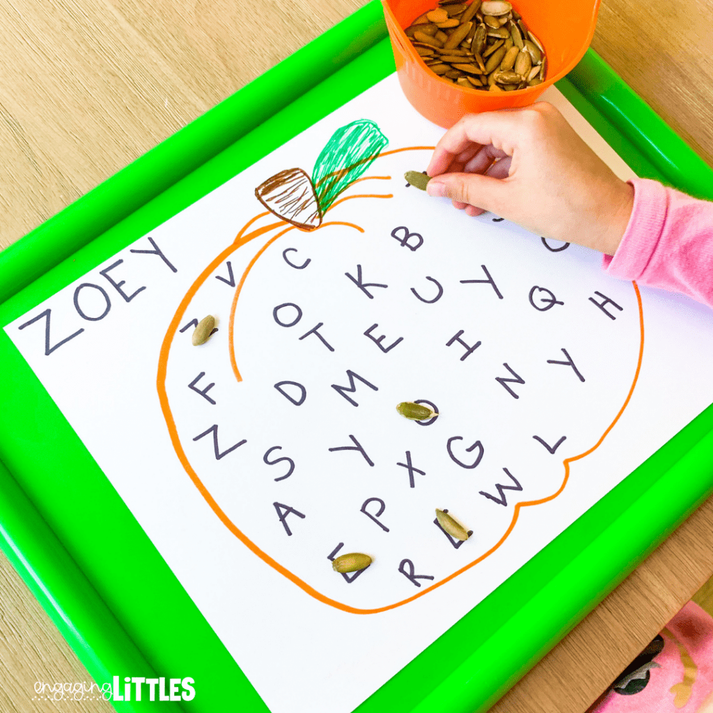 pumpkin name practice