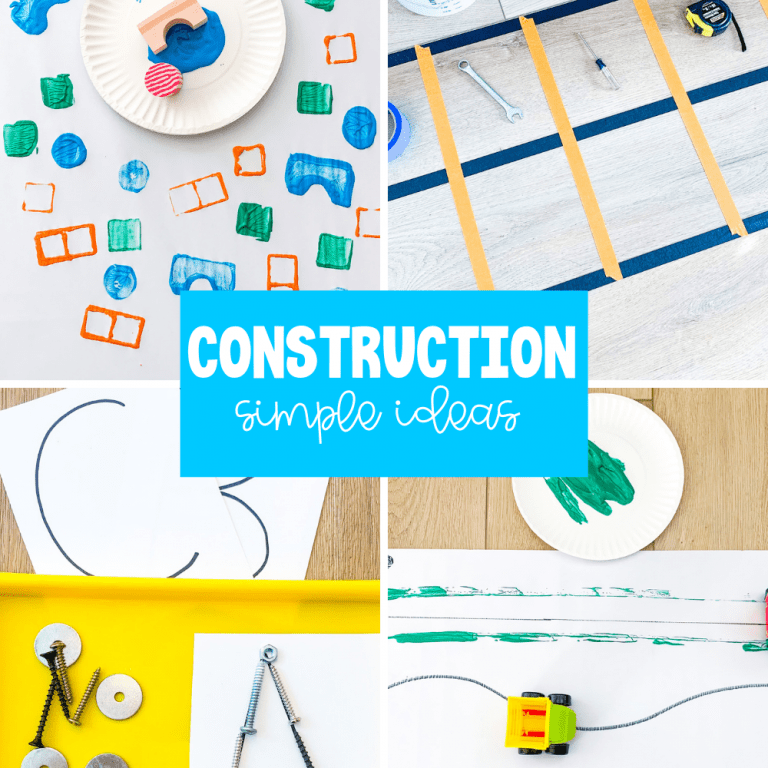 construction activity ideas for kids