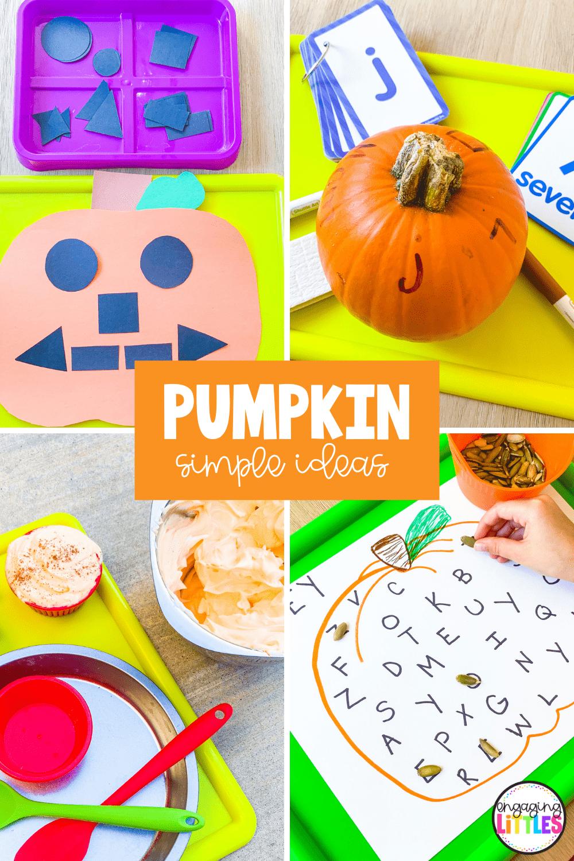 easy pumpkin activities for kids