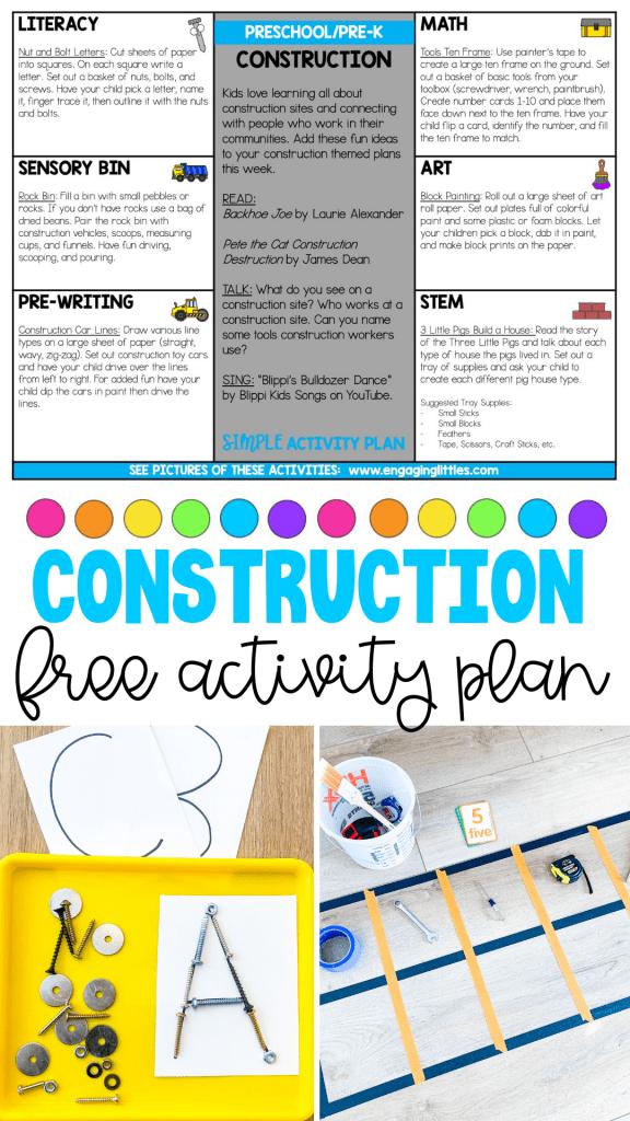 construction activity ideas