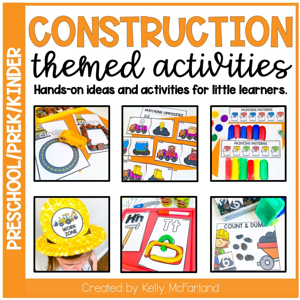 construction themed centers
